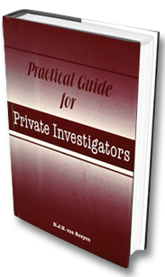 Practical guide for private investigators